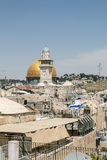 Jerusalem Old City - Dome of the Rock Royalty Free Stock Photos