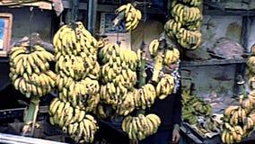 Jerusalem old city fruit stores stock video