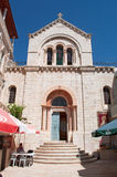 Jerusalem, Old City, Israel, Middle East. The Our Lady of Sorrows Church on September 6, 2015. Called also the church of Sorrows of Mary or of Our Lady of the stock image