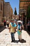 Jerusalem Old City Market Stock Photos