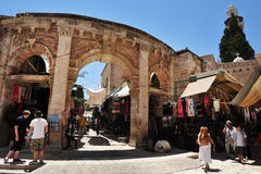 Jerusalem Old City Market Royalty Free Stock Photo