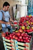 Jerusalem Old City Market Stock Images