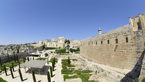 Jerusalem Old city panoram, Israel. Stock Photos
