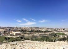 Jerusalem old city panorama,Israe stock images