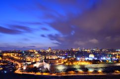 Jerusalem Old City Skyline Royalty Free Stock Image