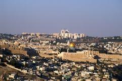 Jerusalem old city temple mount Stock Photos