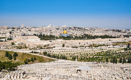 Jerusalem Old City view Stock Photo