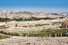 Jerusalem Old City view Royalty Free Stock Images
