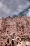 Jerusalem old city walls Royalty Free Stock Photos