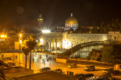 Jerusalem old city, western wall Royalty Free Stock Photography