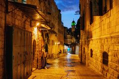 Jerusalem Old Town royalty free stock photography