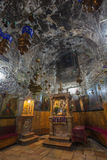 Jerusalem - The orthodox church Tomb of the Virgin Mary under the Mount of Olives. Stock Images