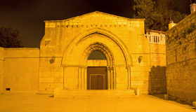 Jerusalem - The orthodox church Tomb of the Virgin Mary under the Mount of Olives Stock Photos