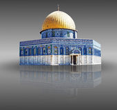 Jerusalem Palestina - a abóbada da rocha Foto de Stock