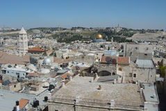 Jerusalem-Panorama Lizenzfreie Stockbilder