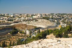Jerusalem panorama Royalty Free Stock Image