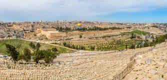 Jerusalem-Panorama stockfoto