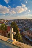 jerusalem panorama- sikt Royaltyfria Foton