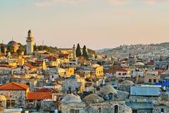 jerusalem panorama- sikt Royaltyfri Fotografi