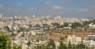 Jerusalem panoramic view Royalty Free Stock Images