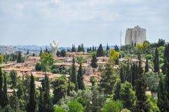 jerusalem panoramiczny widok zdjęcia stock