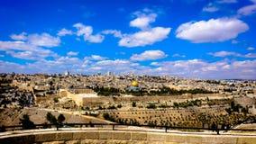 Jerusalem panoramma Lizenzfreie Stockbilder
