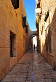 Jerusalem passage. Royalty Free Stock Image