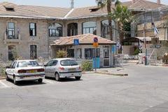 Jerusalem police station Stock Photos