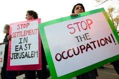 Jerusalem Protest Royalty Free Stock Image