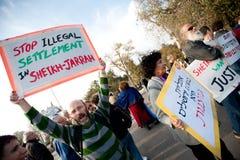 Jerusalem Protest Royalty Free Stock Photo