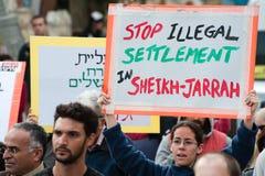 Jerusalem Protest Royalty Free Stock Photography