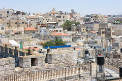 Jerusalem, the roofs of the old city. Stock Images