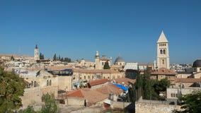 Jerusalem roofs Royalty Free Stock Photography