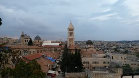 Jerusalem roofs Royalty Free Stock Images