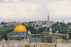 Jerusalem Rooftops Stock Images