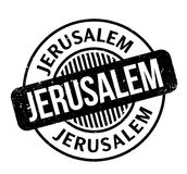 Jerusalem rubber stamp Stock Photography