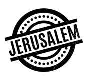 Jerusalem rubber stamp Stock Images