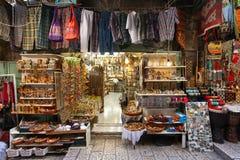 Jerusalem's old city market Stock Photos