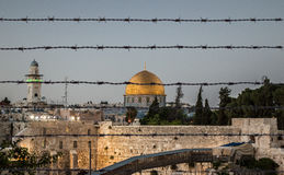 Jerusalem schützte sich Lizenzfreies Stockbild