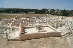 Jerusalem, Second Temple Royalty Free Stock Photos