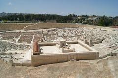 Jerusalem, Second Temple. Jerusalem, Model of the Temple of Herod, Israel royalty free stock photos