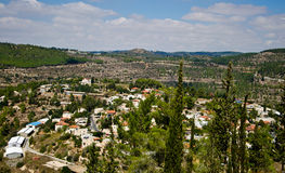 Jerusalem Settlement Royalty Free Stock Photography