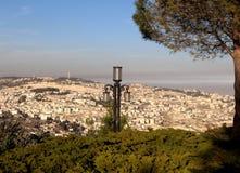 Jerusalem Sherover Promenade Lantern 2010 Stock Images