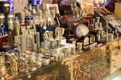 jerusalem shoppar souvenir Royaltyfri Foto