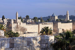 jerusalem sikt Royaltyfri Fotografi