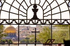 jerusalem sikt Arkivfoto