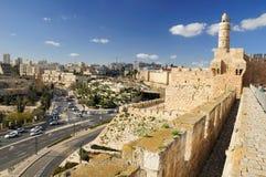 Jerusalem sikt Royaltyfria Bilder