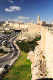 Jerusalem sikt Royaltyfri Foto