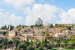 jerusalem sikt Fotografering för Bildbyråer