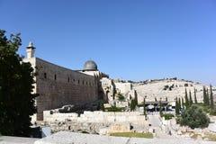 Jerusalem sikt Arkivfoton